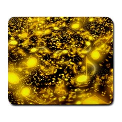 Vortex Glow Abstract Background Large Mousepads