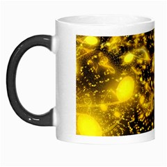 Vortex Glow Abstract Background Morph Mugs