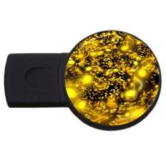Vortex Glow Abstract Background Usb Flash Drive Round (4 Gb)