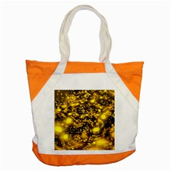 Vortex Glow Abstract Background Accent Tote Bag