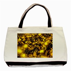 Vortex Glow Abstract Background Basic Tote Bag (two Sides)