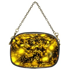 Vortex Glow Abstract Background Chain Purses (two Sides)