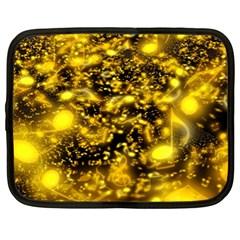 Vortex Glow Abstract Background Netbook Case (xl)