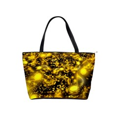 Vortex Glow Abstract Background Shoulder Handbags