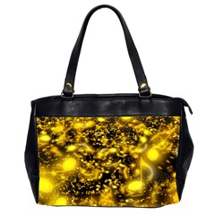 Vortex Glow Abstract Background Office Handbags (2 Sides)