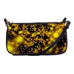 Vortex Glow Abstract Background Shoulder Clutch Bags