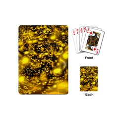 Vortex Glow Abstract Background Playing Cards (mini)