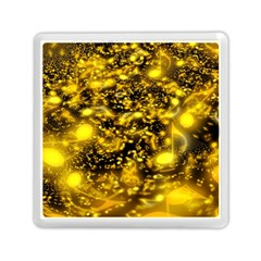 Vortex Glow Abstract Background Memory Card Reader (square)