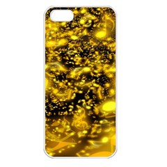 Vortex Glow Abstract Background Apple iPhone 5 Seamless Case (White)