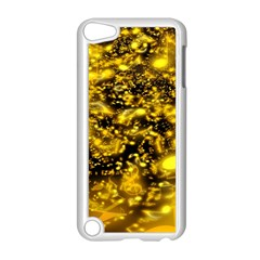 Vortex Glow Abstract Background Apple iPod Touch 5 Case (White)