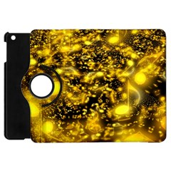 Vortex Glow Abstract Background Apple iPad Mini Flip 360 Case