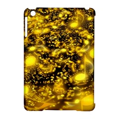 Vortex Glow Abstract Background Apple iPad Mini Hardshell Case (Compatible with Smart Cover)