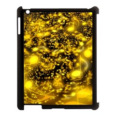 Vortex Glow Abstract Background Apple Ipad 3/4 Case (black)