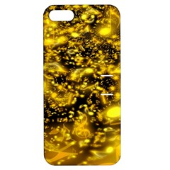 Vortex Glow Abstract Background Apple iPhone 5 Hardshell Case with Stand
