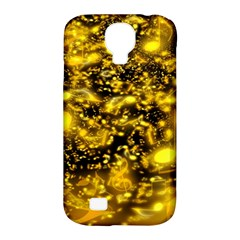 Vortex Glow Abstract Background Samsung Galaxy S4 Classic Hardshell Case (pc+silicone)