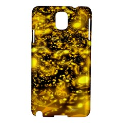 Vortex Glow Abstract Background Samsung Galaxy Note 3 N9005 Hardshell Case
