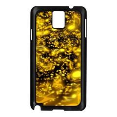 Vortex Glow Abstract Background Samsung Galaxy Note 3 N9005 Case (black)