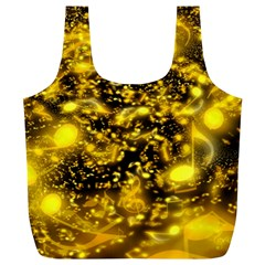 Vortex Glow Abstract Background Full Print Recycle Bags (L)