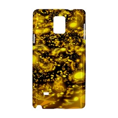 Vortex Glow Abstract Background Samsung Galaxy Note 4 Hardshell Case