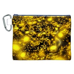 Vortex Glow Abstract Background Canvas Cosmetic Bag (xxl)