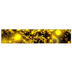 Vortex Glow Abstract Background Flano Scarf (small)