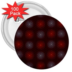 Abstract Dotted Pattern Elegant Background 3  Buttons (100 Pack)