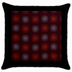 Abstract Dotted Pattern Elegant Background Throw Pillow Case (black)