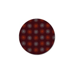 Abstract Dotted Pattern Elegant Background Golf Ball Marker (4 pack)