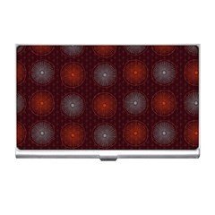 Abstract Dotted Pattern Elegant Background Business Card Holders