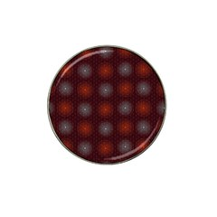 Abstract Dotted Pattern Elegant Background Hat Clip Ball Marker (10 pack)
