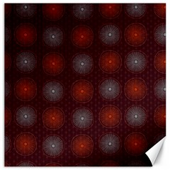 Abstract Dotted Pattern Elegant Background Canvas 16  X 16