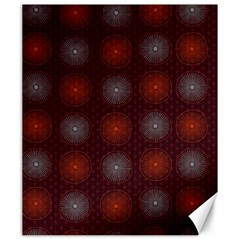 Abstract Dotted Pattern Elegant Background Canvas 20  X 24
