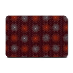 Abstract Dotted Pattern Elegant Background Small Doormat