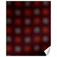 Abstract Dotted Pattern Elegant Background Canvas 11  X 14