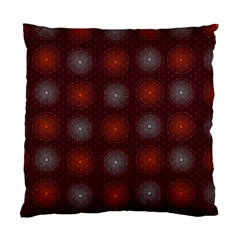 Abstract Dotted Pattern Elegant Background Standard Cushion Case (One Side)