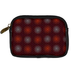 Abstract Dotted Pattern Elegant Background Digital Camera Cases
