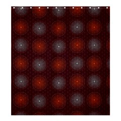 Abstract Dotted Pattern Elegant Background Shower Curtain 66  X 72  (large)
