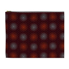 Abstract Dotted Pattern Elegant Background Cosmetic Bag (xl)