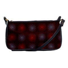 Abstract Dotted Pattern Elegant Background Shoulder Clutch Bags