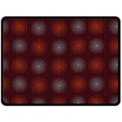 Abstract Dotted Pattern Elegant Background Fleece Blanket (large)