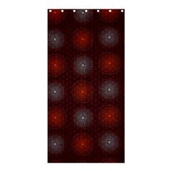 Abstract Dotted Pattern Elegant Background Shower Curtain 36  X 72  (stall)