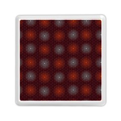 Abstract Dotted Pattern Elegant Background Memory Card Reader (square)