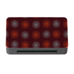 Abstract Dotted Pattern Elegant Background Memory Card Reader With Cf