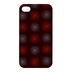 Abstract Dotted Pattern Elegant Background Apple iPhone 4/4S Hardshell Case