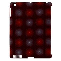 Abstract Dotted Pattern Elegant Background Apple iPad 3/4 Hardshell Case (Compatible with Smart Cover)
