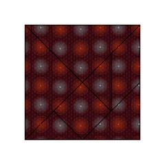 Abstract Dotted Pattern Elegant Background Acrylic Tangram Puzzle (4  x 4 )