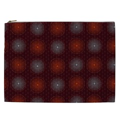 Abstract Dotted Pattern Elegant Background Cosmetic Bag (XXL)