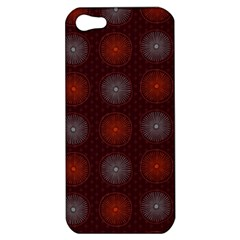 Abstract Dotted Pattern Elegant Background Apple Iphone 5 Hardshell Case