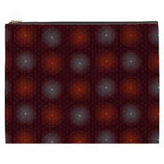 Abstract Dotted Pattern Elegant Background Cosmetic Bag (XXXL)