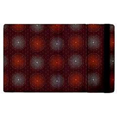 Abstract Dotted Pattern Elegant Background Apple iPad 2 Flip Case